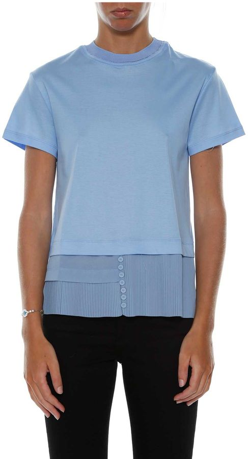 Carven Carven Pleated Detail T-shirt