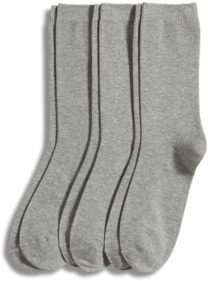 Jockey Women's 3-Pack Cotton Blend Crew Socks