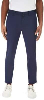 Globe-trotter EFM-Engineered for Motion Globetrotter Slim-Fit Flat Front Trousers
