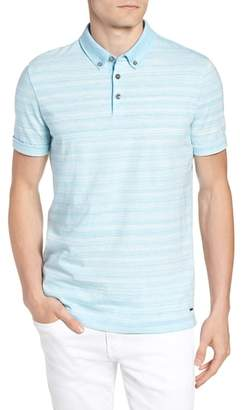 BOSS Pelham Space Dyed Slim Fit Polo
