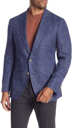 Robert Graham Jeremy Notch Collar Tailored Fit Sportcoat