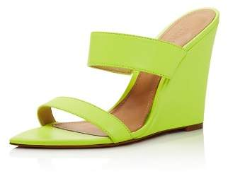 Schutz Women's Soraya Wedge Heel Sandals