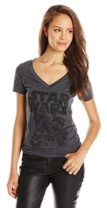 Star Wars Juniors' Episode 7 The Force Awakens Group Logo Graphic T-Shirt