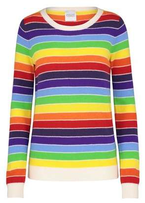 Madeleine Thompson Kermit Jumper in Rainbow Stripe