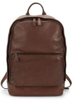 Frye Chris Leather Backpack