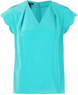Escada v-neck blouse
