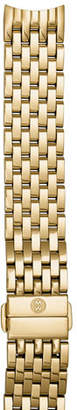 Michele 18K Gold-Plated 18mm Seven-Link Bracelet Strap