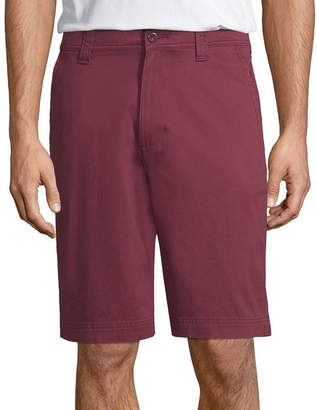 ST. JOHN'S BAY Mens Mid Rise Chino Shorts