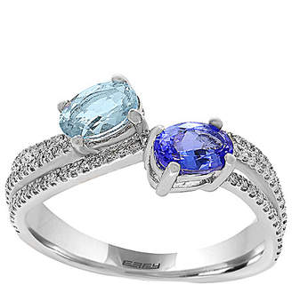 Effy Fine Jewelry 14K 0.75 Ct. Tw. Diamond & Gemstone Ring