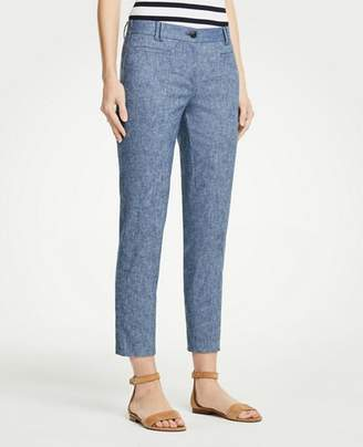 Ann Taylor The Tall Crop Pant In Chambray