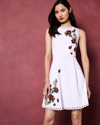 Ted Baker KRISTIL Kirstenbosch skater dress