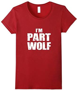 Wolf Part Human Hungry Wild Animal T-Shirt