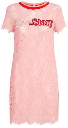 Pinko Embellished Lace Dress