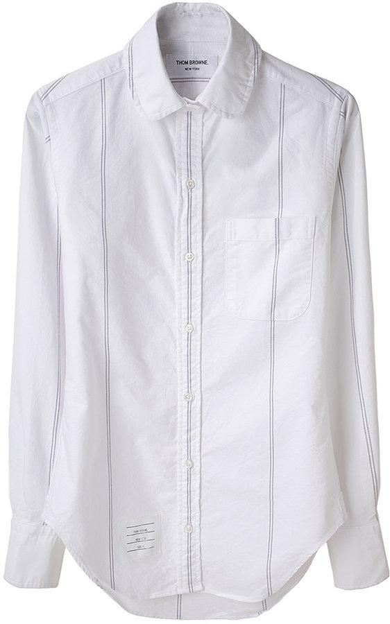 Thom Browne / Round Collar Oxford Shirt