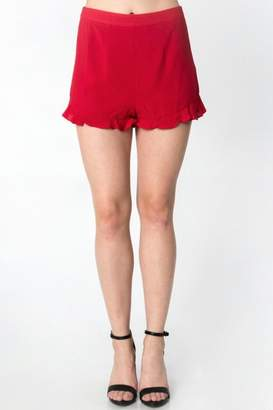 Everly Ruffle Hem Shorts