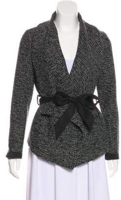 Waverly Grey Wool-Blend Jacket