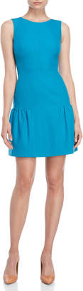 Karen Millen Turquoise Drop Waist Dress