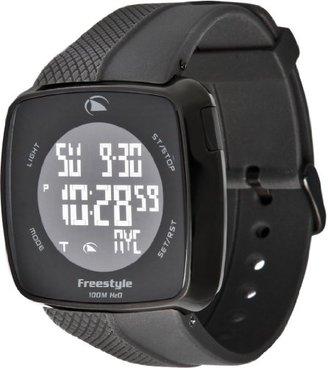 Freestyle (フリースタイル) - [フリースタイル]Freestyle スポーツウォッチ TANGENT デジタル表示 10気圧防水 タッチパネル操作機能 ブラック FS84915 メンズ 【正規輸入品】