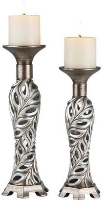 "Generic 12"", 14"" Kiara Candleholder Set"