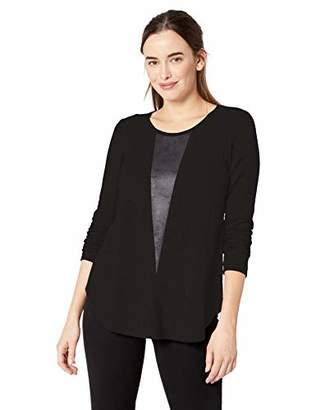 Karen Kane Women's Faux Detail Sweater