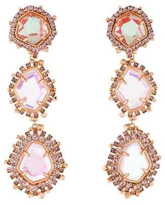 Kendra Scott Crystal Aria Clip-On Earrings