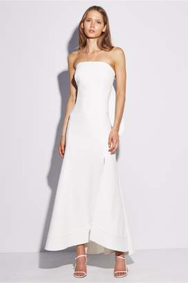 C/Meo Collective CHAPTER ONE STRAPLESS GOWN ivory
