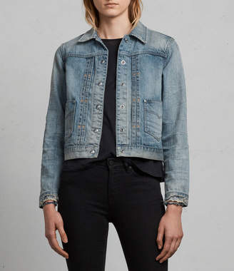 AllSaints Serene Denim Jacket