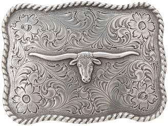 M&F Western Antiqued Longhorn Buckle Belts