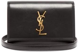 7c1031f9c406 Saint Laurent Kate Leather Belt Bag - Womens - Black