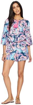 Lilly Pulitzer Del Lago Romper Women's Jumpsuit & Rompers One Piece