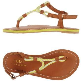 Ralph Lauren Toe post sandal