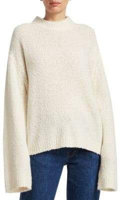 Elizabeth and James Josette Boucle-Knit Sweater