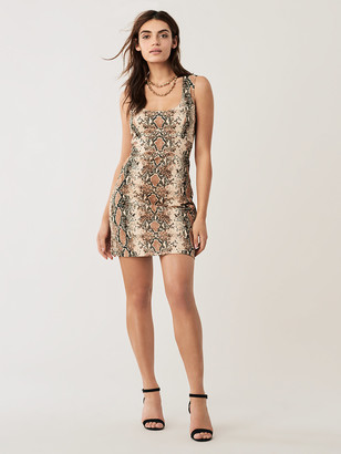 Diane von Furstenberg Tessa Stretch Twill Mini Dress