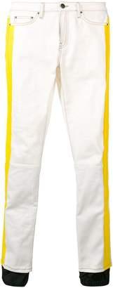 Palm Angels zipped cuff jeans