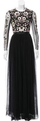 Needle & Thread Embellished Evening Dress