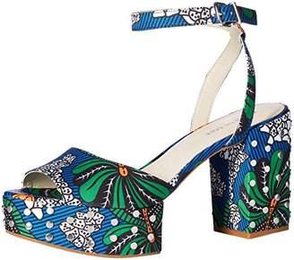 Kenneth Cole New York Women's Pheonix Stud Platform Dress Heeled Sandal