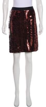 See by Chloe Sequin Knee-Length Skirt