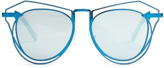 Karen Walker Marguerite cat-eye sunglasses