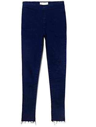 Vince Camuto Denim Raw-edge Leggings