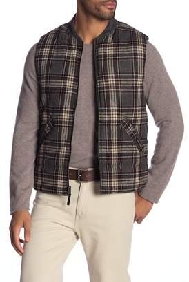 Jeremiah Micah Reversible Plaid Flannel Vest