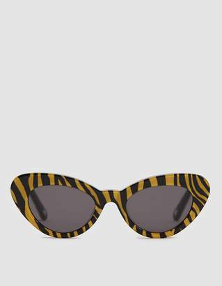 4cba30bd47de Chimi Eyewear Tiger Round Stripe Sunglasses