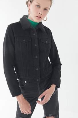 Levi's Levi's Denim Sherpa Trucker Jacket