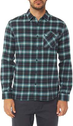 O'Neill Graham Shadow Check Flannel Shirt