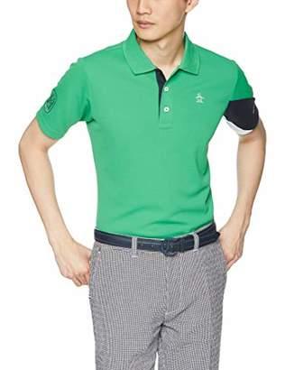 Munsingwear (マンシングウェア) - [マンシングウェア] 半袖シャツ(ニット) MGMNJA31 GR00(グリーン) 日本 M (日本サイズM相当)