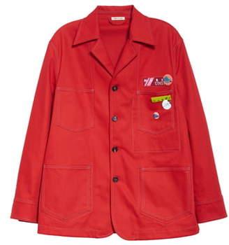 Marni Drill Chore Jacket