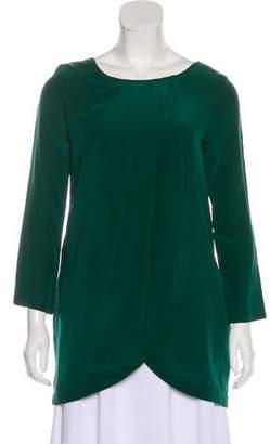 Rachel Comey Silk Pleated Tunic