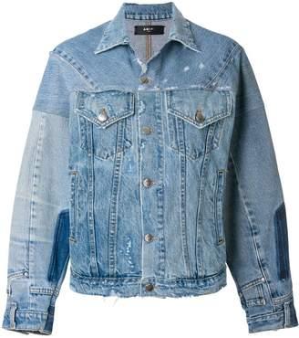 Amiri reconstructed trucker jacket