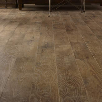 Ash Mannington Restoration 6'' x 51'' x 12mm Oak Laminate Flooring in