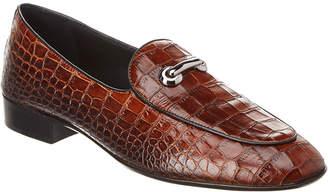 Giuseppe Zanotti Archibald Classic Leather Loafers