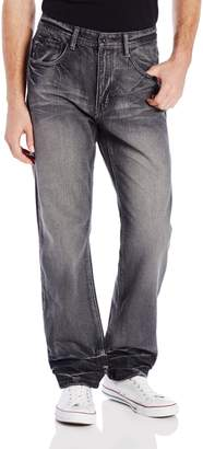 Southpole Men's Premium Washed Denim In Slim Straight Fit